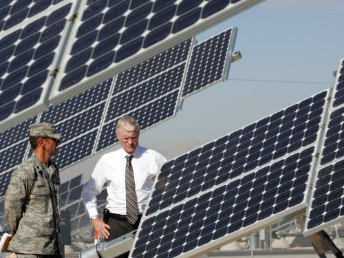 Solar power could protect the US military from dangerous threats to the electric grid