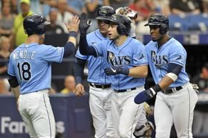 Snell, d'Arnaud help Rays beat White Sox to end 5-game skid