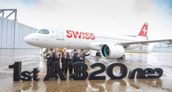 Swiss International Air Lines takes delivery of its first A320neo