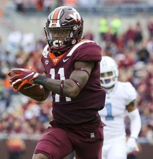 Patterson's conversion lifts Virginia Tech over UNC in 6 OTs