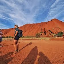 Uluru has become as case study regarding rising number of visitors in local culture