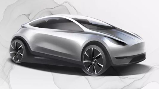 This Could Be Tesla's First Car Designed In China