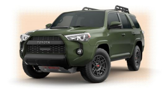 'Army Green' Is The 2020 Toyota 4Runner's Best New Feature