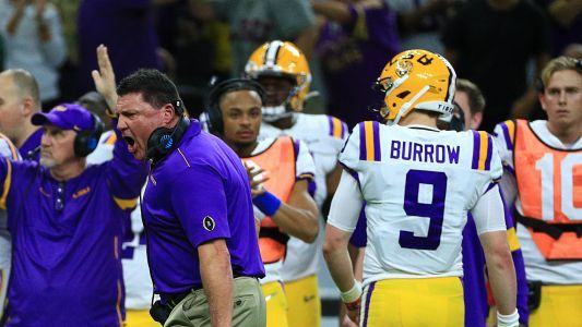 LSU vs. Clemson takeaways: Joe Burrow, Ed Orgeron achieve perfection; Trevor Lawrence lays an egg