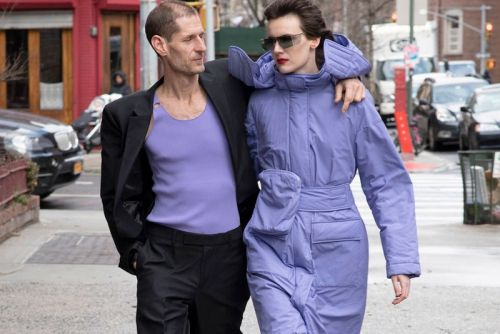 Helmut Lang Test-Drives FW20 Collection in Historic New York City Streets