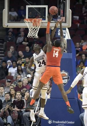 No. 22 Mississippi State tops Clemson 82-71 in New Jersey