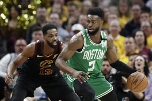 All tied up: LeBron's 44 helps Cavs even series with Celtics