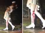 "Statue Of WWII Sailor Kissing Nurse Vandalized With "" MeToo"""