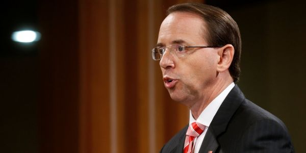 Rod Rosenstein is reportedly expecting to be fired after reports that he discussed invoking the 25th Amendment and wearing a wire to record his conversations with Trump