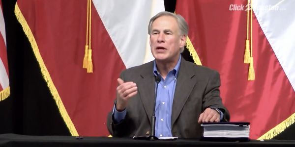 Texas governor pledges to keep building the Trump border wall even after Biden canceled it