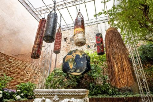 Michèle Lamy's Punching Bags Will Hit Sotheby's Online Charity Auction