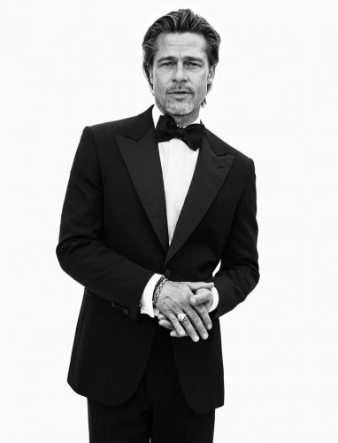 Brad Pitt Fronts Brioni Spring '20 Campaign