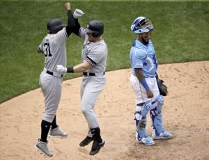 Voit, Yanks beat KC 7-3, open twinbill with 6th win in row