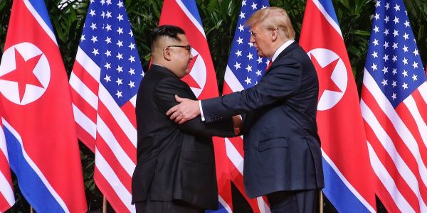 North Korea appears to be getting rid of its anti-American propaganda after the Trump-Kim summit