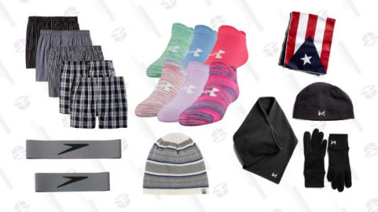 Save On Socks, Shirts, and Other Basics With This Amazon Sale