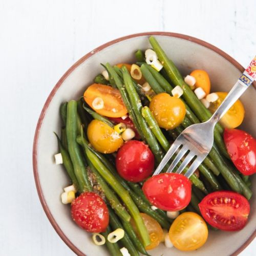Green Beans and Tomatoes Salad