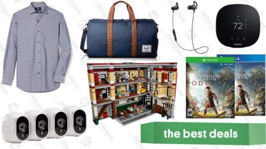 Wednesday's Best Deals: Herschel Supply Co Bags, Assassin's Creed Odyssey, Arlo Cameras, and More