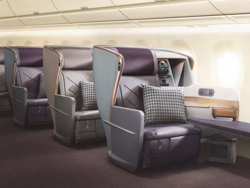 The plane seats on the world's longest flight are so luxurious they're basically fit for royalty