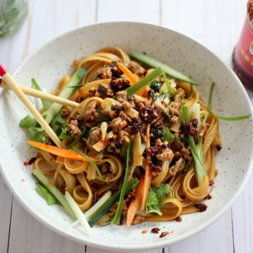 Easy Chinese 'Bolognese'