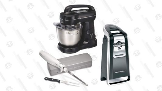 Make Your Thanksgiving Dinner Prep Easier Than Ever With This Sale on Hamilton Beach Tools