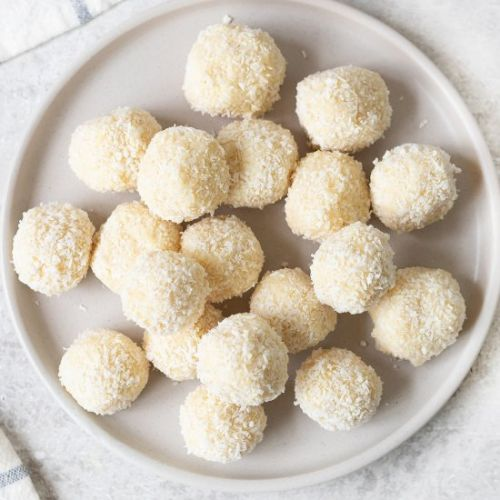 White Chocolate And Coconut Truffle