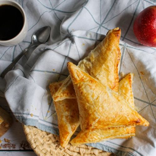 Easy Apple Puff Pastry Turnovers
