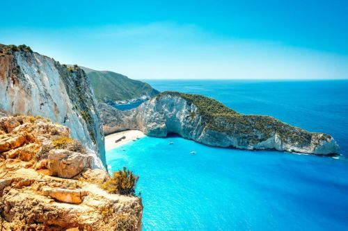 Visiting The Famous Shipwreck Beach In Zakynthos, Greece