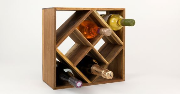 The Best Tabletop Wine Racks for Small Kitchens