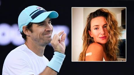 'We all need to get the vaccine': Serbian tennis star insists there is 'no reason not to get vaccinated' as ex-number one gets jab