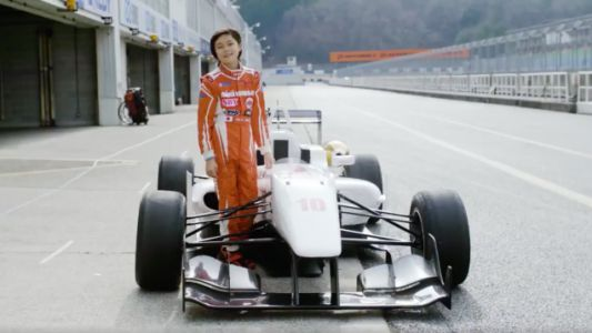 Meet The Young Girl Racing Formula Cars Against Adults Before She's Even In Her Teenage Years