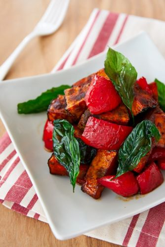 Quick Side Dish: Balsamic Glazed Kabocha