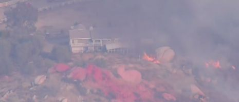 500-acre wildfire sparks in Riverside