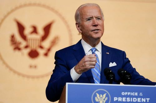 Here's what Joe Biden plans to do in his first 100 days