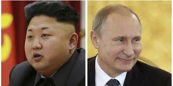 A North Korean official just gave Putin a written message from Kim Jong Un