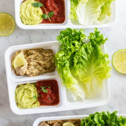 Instant Pot Ranch Chicken Meal Prep