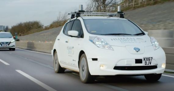 Nissan completes U.K.'s 'most complex' autonomous car trip, proving the value of a local approach