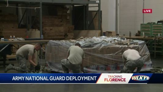 Kentucky Army National Guard deploys 60 to North Carolina in response to Florence