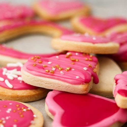 Vegan cut out sugar cookies