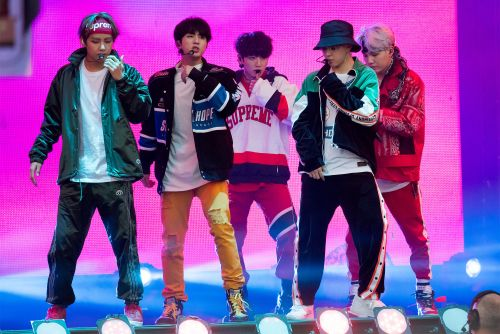 K-Pop band BTS under fire for wearing Nazi hats in photos