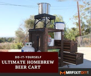 DIY Homebrew Beer Cart
