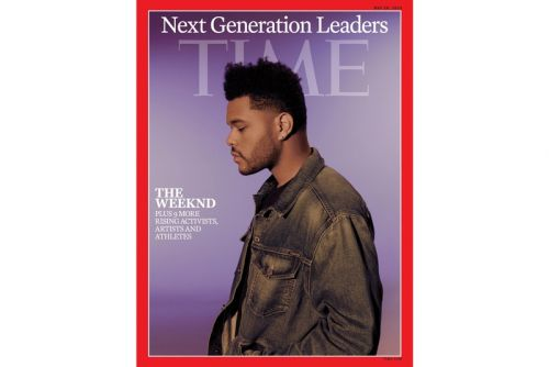 "The Weeknd Covers TIME Magazine's ""Next Generation Leaders"" Issue"