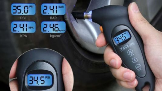 Check Your Tire Pressure Anywhere With This $7 Digital Monitor