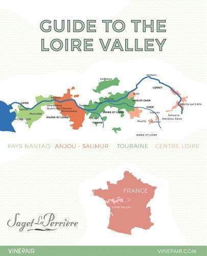 An Introduction to the Regions of the Loire Valley: MAP