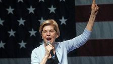 Elizabeth Warren Calls For Donald Trump Impeachment Hearings