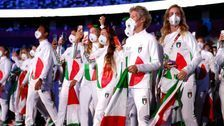 Italy Turns Heads At Tokyo Olympics Opening Ceremony With 'Interesting' Outfits