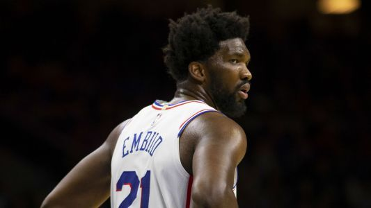 76ers' Joel Embiid mocked by Raptors fans, Drake during first scoreless NBA game