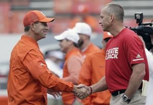 No. 3 Clemson, No. 16 NC State set to meet after bye weeks