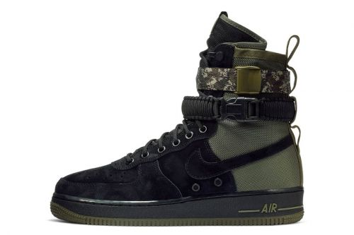 Nike Introduces Military-Influenced SF-AF1 With Camo Strap