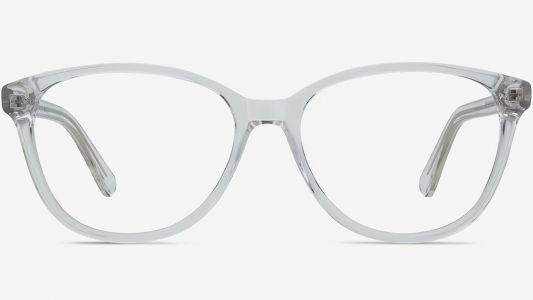 These Clear-Frame Eyeglasses Make Maria Feel Much Better While Staring at a Screen