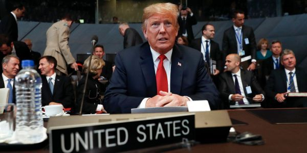 Senators from both parties have introduced a bill to keep Trump from ditching NATO, but they may not be able to stop him